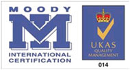 Smart-Home Group Recieved QMS ISO 9001:2008, Moody UKAS Logo