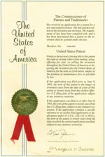 US Patent Certification